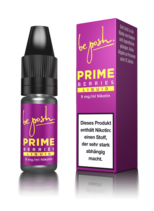 PRIME E-Liquid - Berries-Aroma - 9 mg/ml Nikotin - Made in Germany