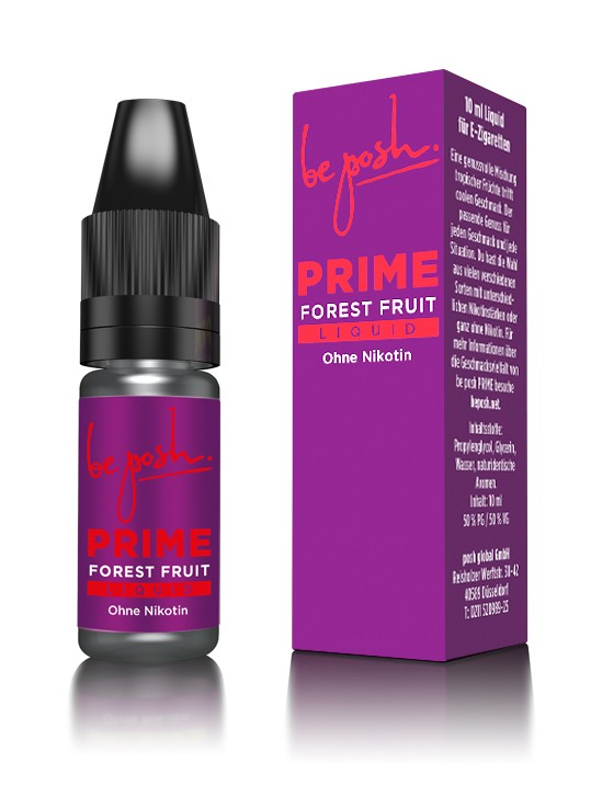 PRIME E-Liquid - Waldfrucht-Aroma - ohne Nikotin - Made in Germany