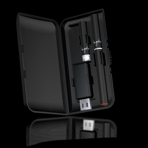 be posh SELECT E-Zigarette mit CAPS und USB-Charger im Etui