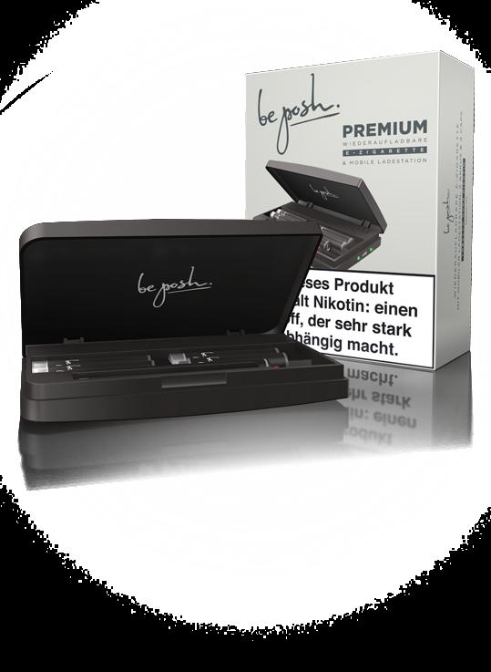 be posh E-Zigarette PREMIUM Tobacco 18 ist die E-Zigarette für den langen Genuss