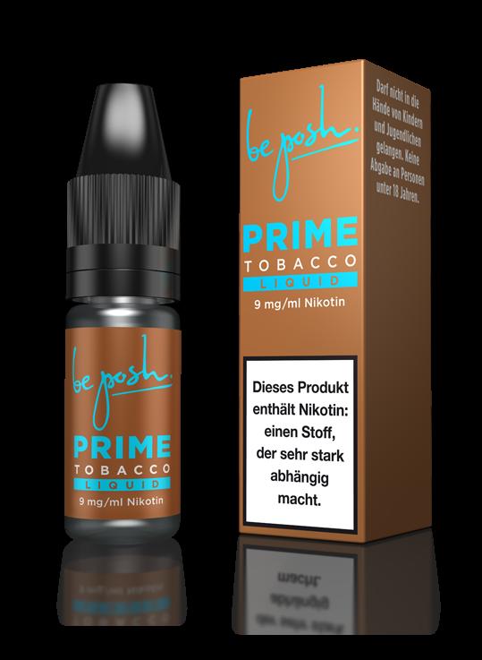 PRIME E-Liquid - Tabak-Aroma - 9mg Nikotin - Made in Germany
