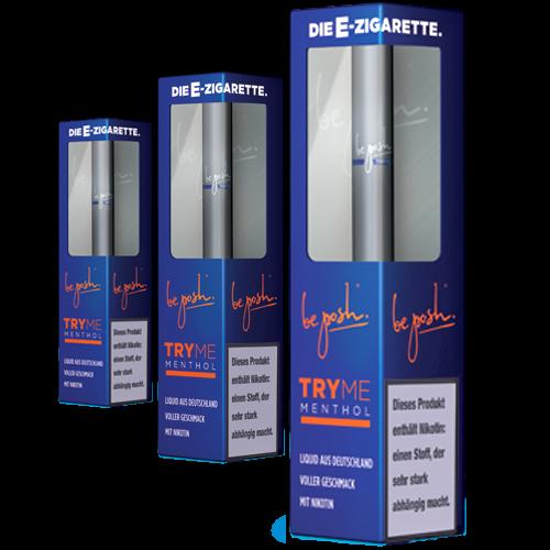 TRY ME Menthol 3er Set mit 1,6% Nikotin