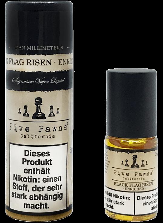 five pawns black flag risen in verschiedenen nikotinst rken made in california jetzt im. Black Bedroom Furniture Sets. Home Design Ideas