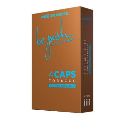 CAPS Tabak Geschmack mit und ohne Nikotin