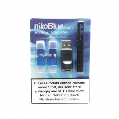 nikoBlue Starterset (schwarz)