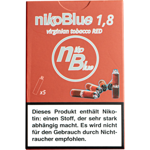 nikoBlue refill red 1.8% Nikotin