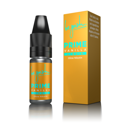 PRIME E-Liquid - Vanille-Aroma - ohne Nikotin - Made in Germany