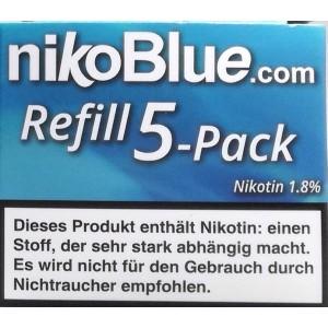 nikoBlue refill classic 1.8% Nikotin