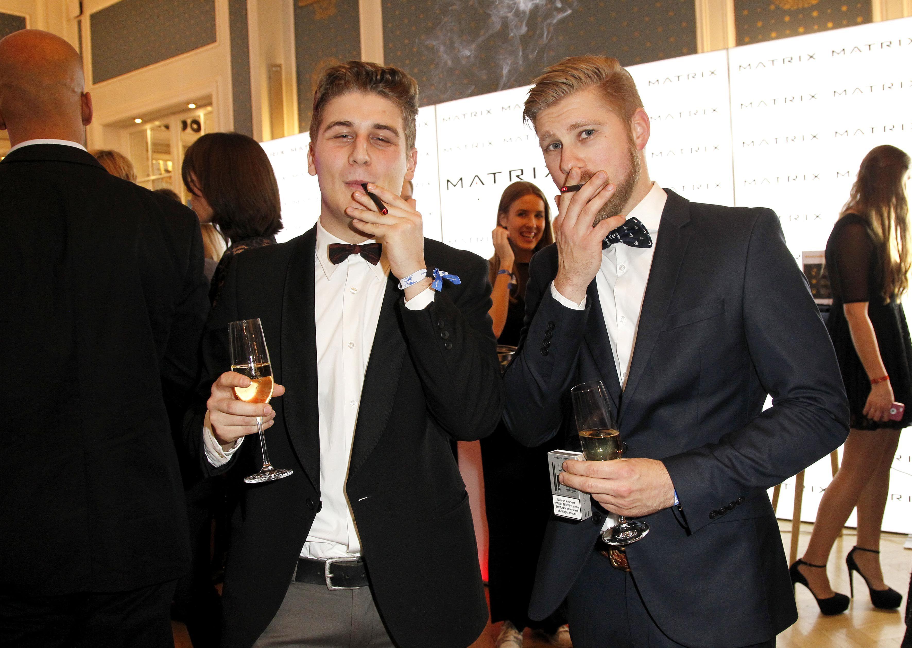 Kian Pfitzner und Mark Kraus geniessen be posh
