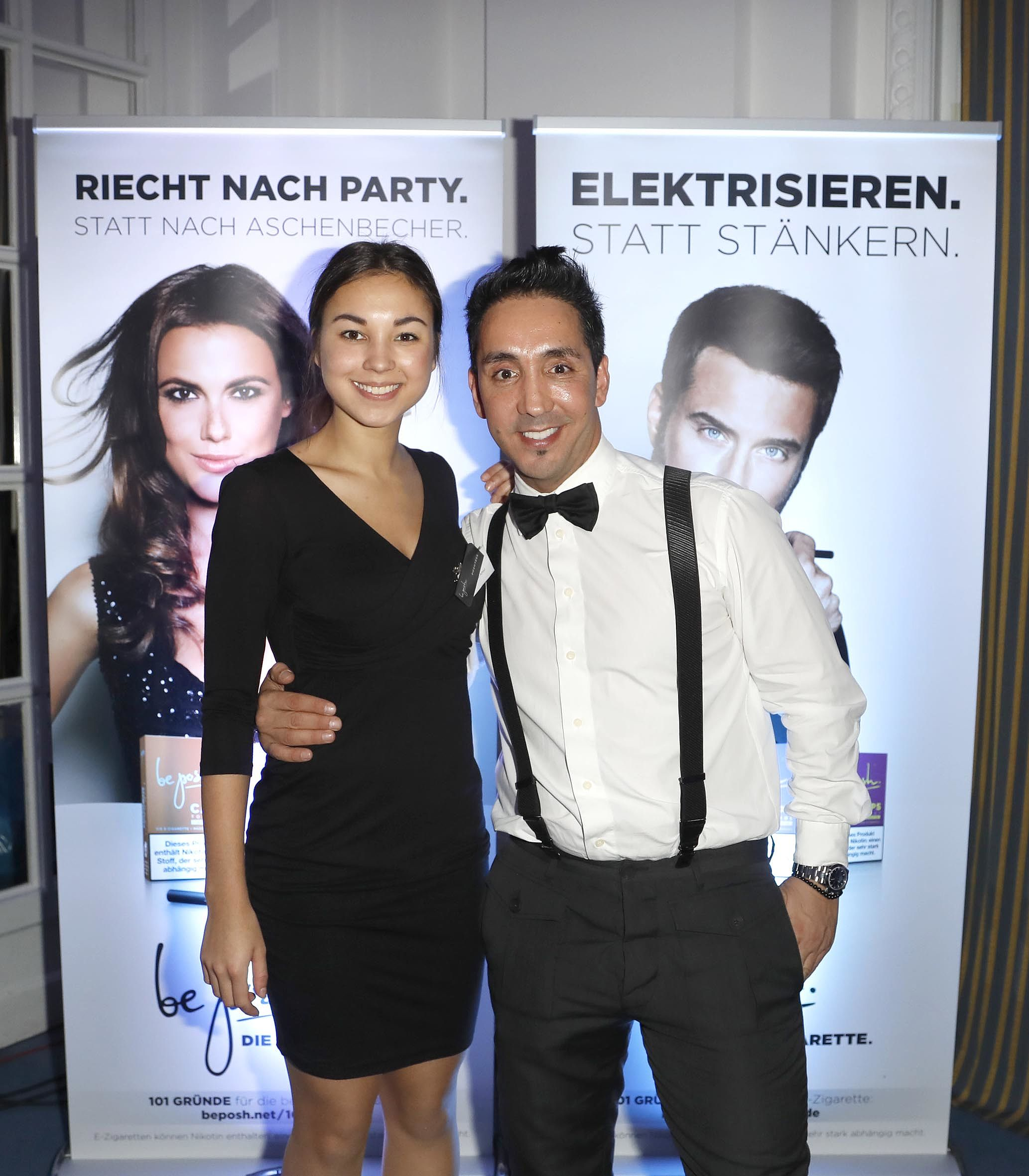 Meet the team - Poshtessen mit Sadik auf der Movie Meets Media in Hamburg