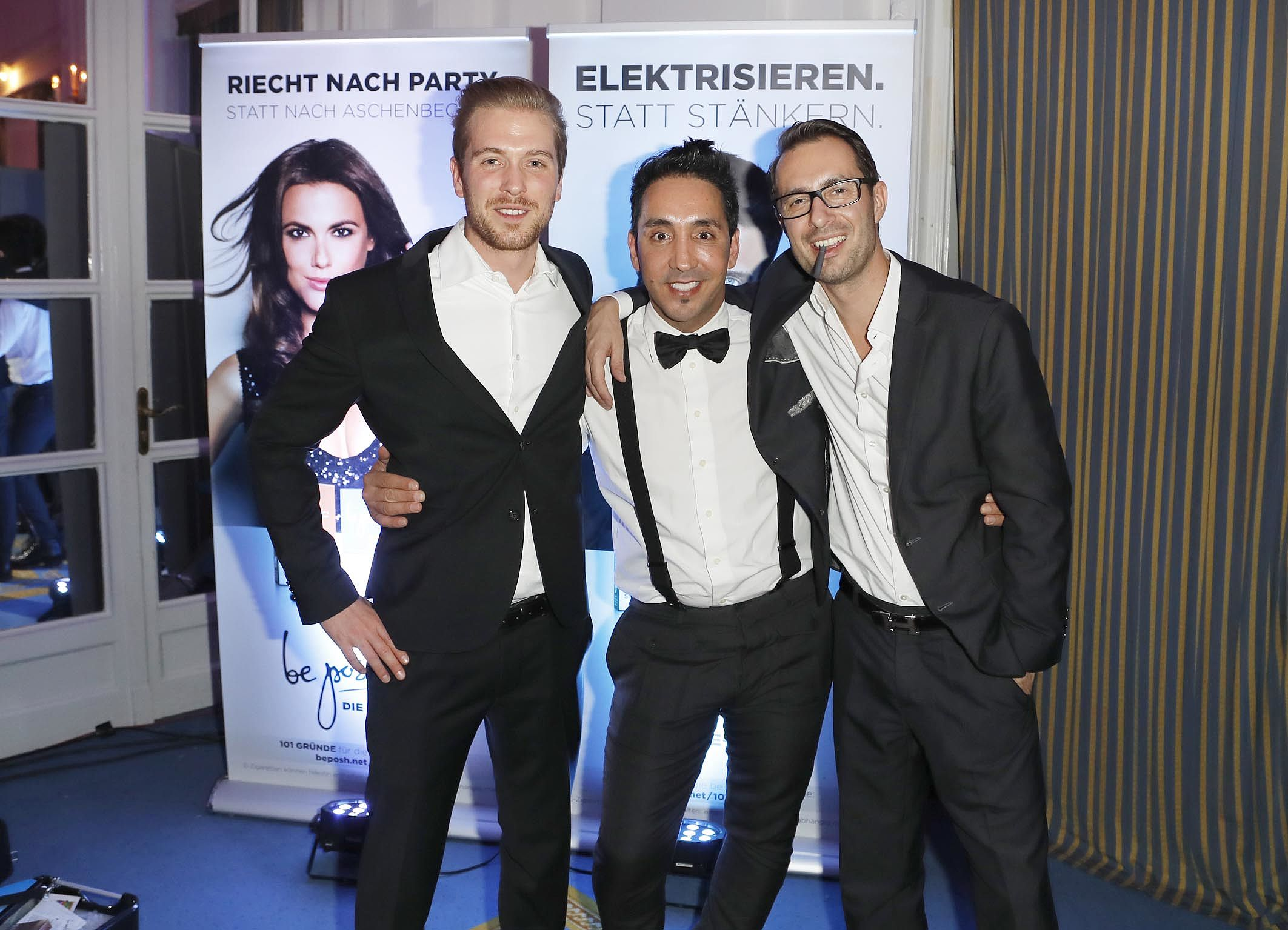 Meet the team - Flo, Sadik und Timo auf der Movie Meets Media in Hamburg