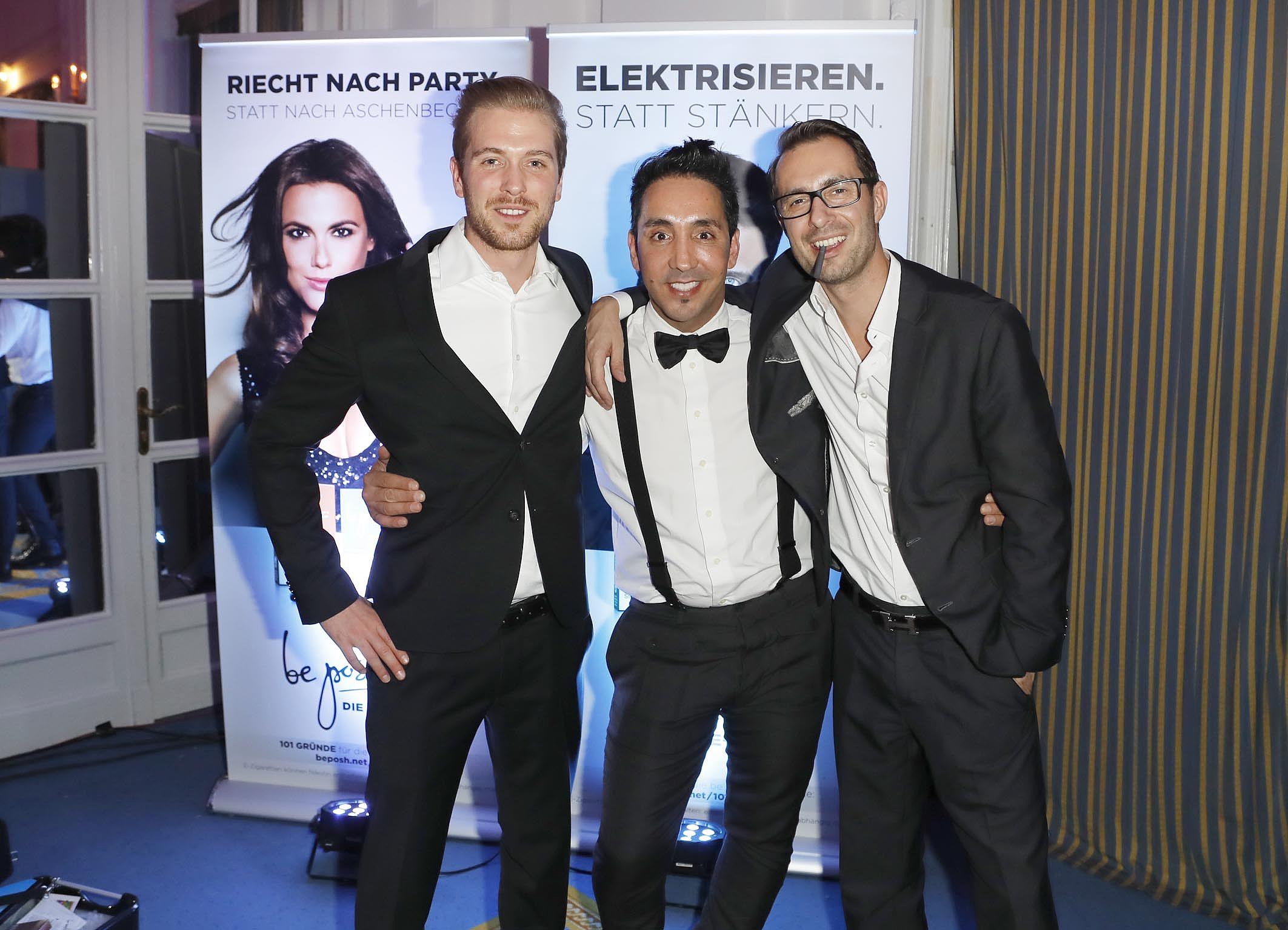 Meet the team - Flo, Sadik und Timo auf der Movie Meets Media in Hamburg