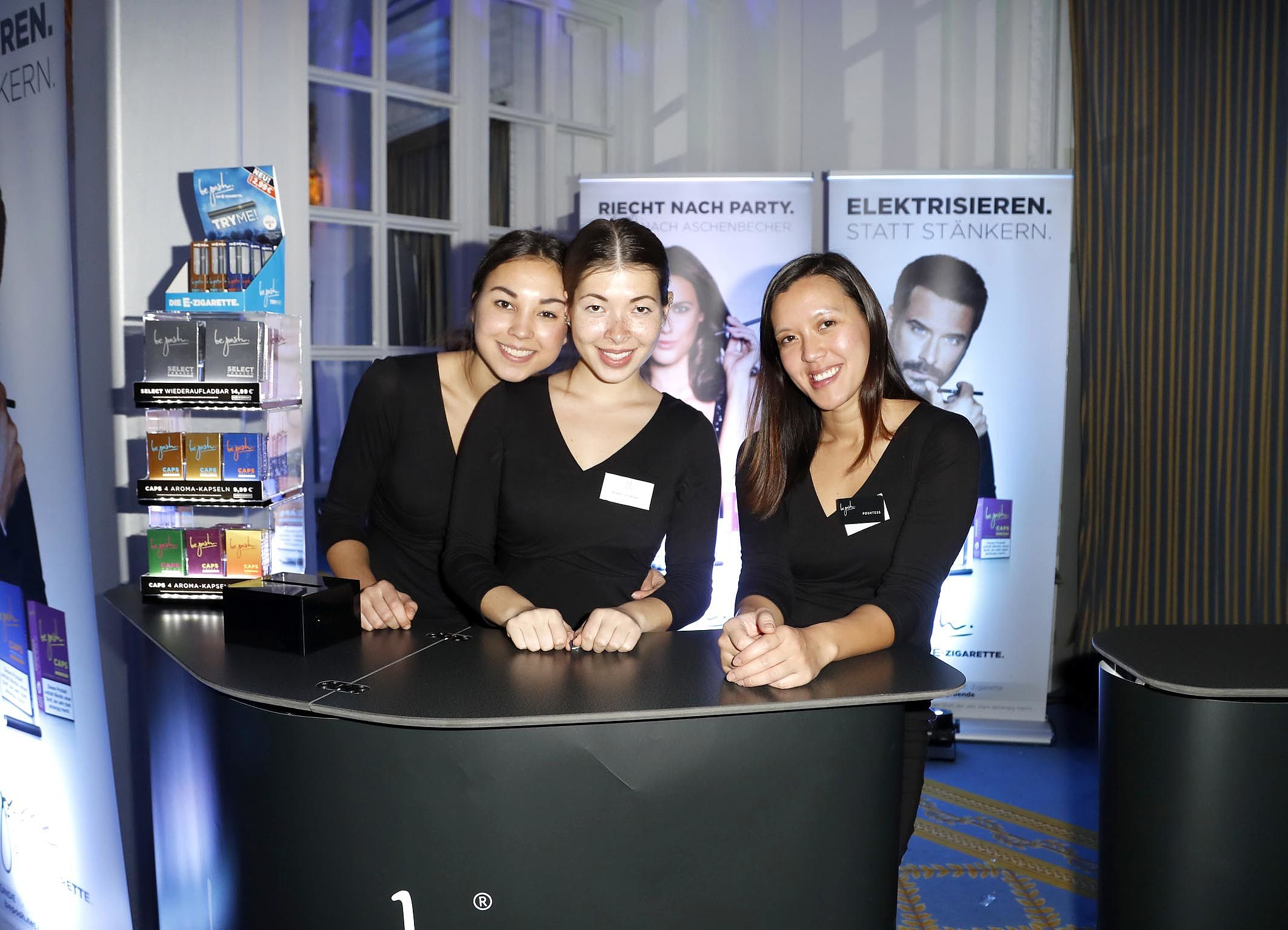 Unsere Poshtessen auf der Movie Meets Media in Hamburg
