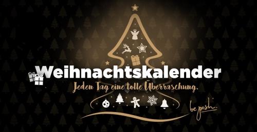 Der be posh Weihnachtskalender